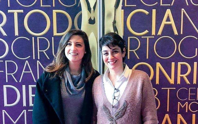 Doctoras de Lorente Ortodoncia en simposio