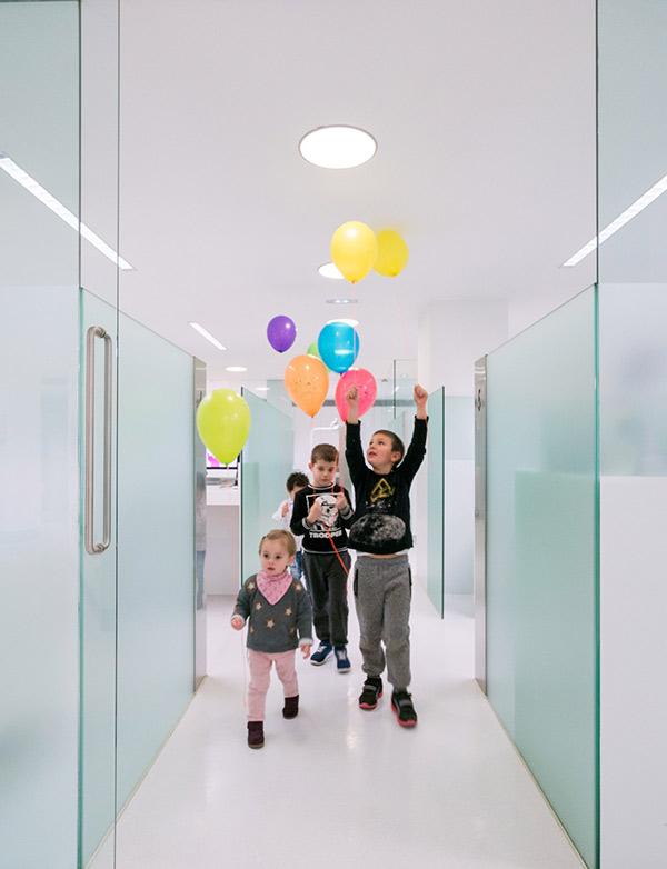 Niños pacientes de Lorente ortodoncia