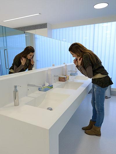 Zona lavado de dientes